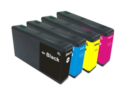 Remanufactured Epson 676XL High Yield Ink Cartridges Set