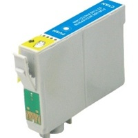 Remanufactured Epson T079220 Cyan Ink Cartridge
