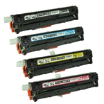 Remanufactured HP M251nw, M276nw 4-Color Laser Toner Cartridge Set