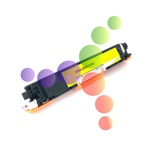 Compatible HP 126A Yellow Laser Toner Cartridge