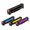 Replaces HP 312A - Remanufactured for HP CF380A,CF381A,CF382A,CF383A Toner Cartridge Set of 4 for Color LaserJet Pro M476dn, M476dw, M476nw