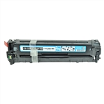 Remanufactured HP 128A Cyan Laser Toner Cartridge
