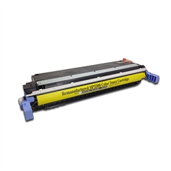 Remanufactured HP C9732A Yellow Laser Toner Cartridge