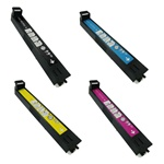 Remanufactured HP 823A 824A 4-Color Laser Toner Cartridge Set