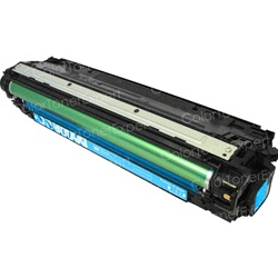 Remanufactured HP CE741A Cyan Laser Toner Cartridge