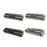 Remanufactured HP 201A 4-Color Laser Toner Cartridge Set