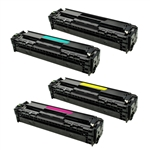 Remanufactured HP 410A Laser Toner Cartridge Set of 4