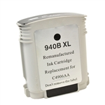 Remanufactured HP 940XL C4906AN Black Ink Cartridge