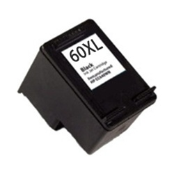 Remanufactured HP 60XL CC641WN Black High Yield Ink Cartridge