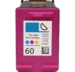 Remanufactured HP 60 CC643WN Tri-Color Ink Cartridge