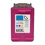 HP 60XL CC644WN High Yield Color Ink Cartridge