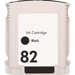 Remanufactured HP CH565A HP82 Black Ink Cartridge