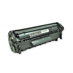 Remanufactured HP Q2612A Black Laser Toner Cartridge