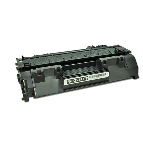 Replaces Hp Ce505a 05a Remanufactured Black Laser