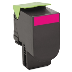 Lexmark 80C1XM0 Toner Extra High Yield Magenta Compatible Cartridge