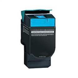 Lexmark C544X2CG High Yield Cyan Toner Compatible Cartridge