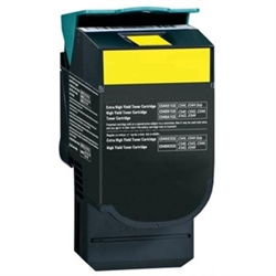 Lexmark C544X2YG High Yield Yellow Toner Compatible Cartridge