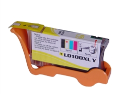 Lexmark 14N1071 Yellow 100XL Ink Remanufactured Cartridge
