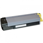 Remanufactured Okidata 43324474 Yellow Laser Toner Cartridge