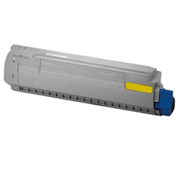Compatible Okidata 44059213 Yellow Laser Toner Cartridge