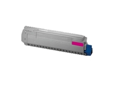 Replaces Okidata 44059214 - Compatible Magenta Laser Toner Cartridge for MC860