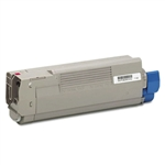 Remanufactured Okidata 43865718 Magenta Laser Toner Cartridge