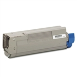 Remanufactured Okidata 43865719 Cyan Laser Toner Cartridge