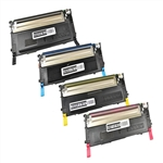 4-Color Compatible Laser Toner Cartridges for Samsung CLP-315