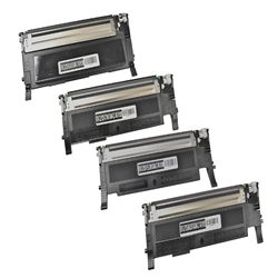4-Color Compatible Laser Toner Set for Samsung CLP-325