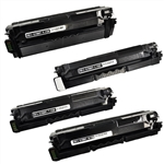 4-Color Compatible Toner Set for Samsung CLP-680ND, CLX-6260FD