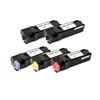 Remanufactured 5-Pack Laser Toner Set for Xerox Phaser 6128