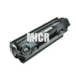 Remanufactured HP CB436A Black Laser Toner Cartridge with MICR